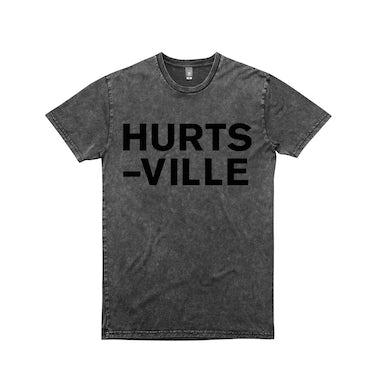 Jack Ladder Hurts-Ville / t-shirt Acid Wash Black