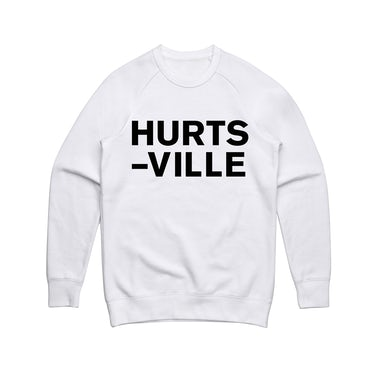 Jack Ladder Hurts-Ville / Crewneck White