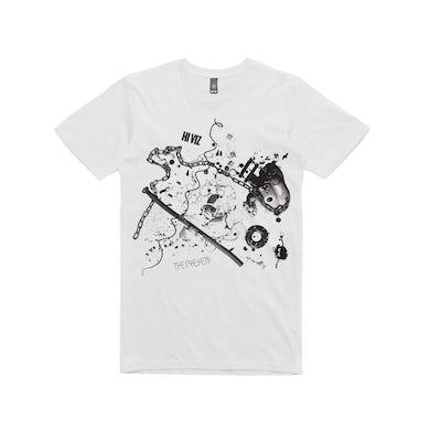 The Presets HI VIZ tour / t-shirt white