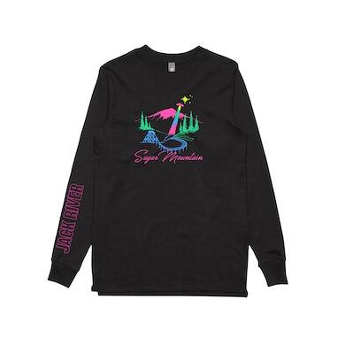 Jack River U.F.O / Black Longsleeve T-shirt