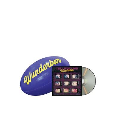 The Living End Wunderbar Footy Bundle / NRL footy + CD