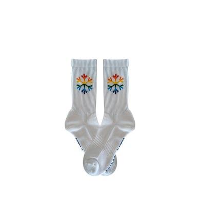 Angus & Julia Stone Snowflake / White Socks