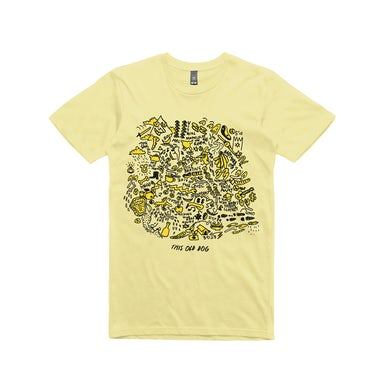 Mac Demarco This Old Dog  / Album Art / Yellow T-shirt