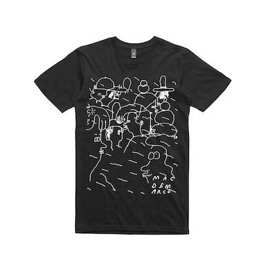 Mac Demarco People Doodle / Black T-shirt