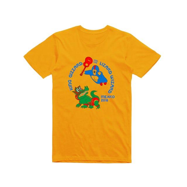King Gizzard & The Lizard Wizard Mexico / Gold T-shirt