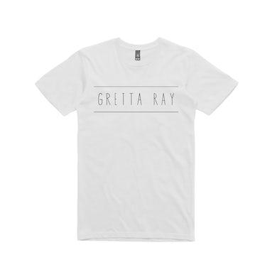 Gretta Ray Logo / White T-shirt