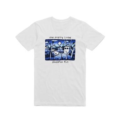 The Pretty Littles Skeleton Run / White T-shirt