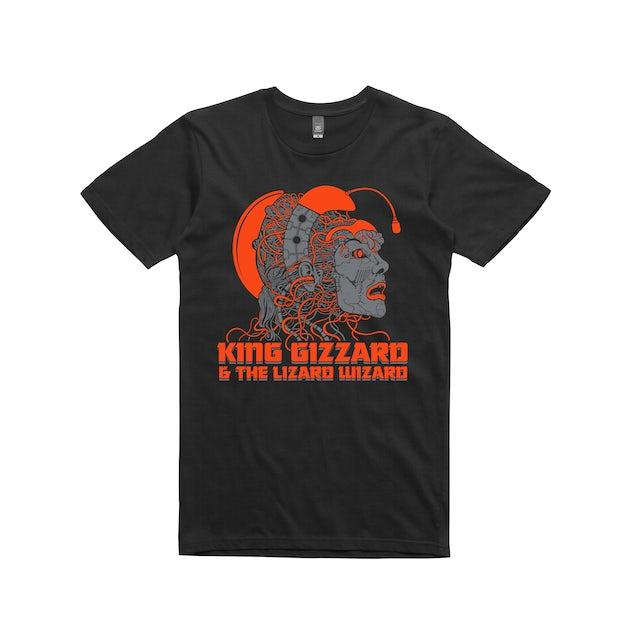 King Gizzard & The Lizard Wizard Cyborgie / Black T-shirt