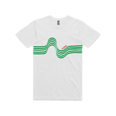 Pond Rainbow / White T-shirt