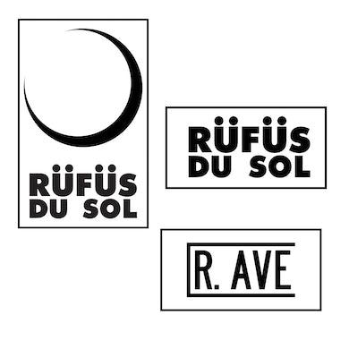 RÜFÜS DU SOL Sticker Pack