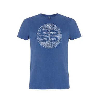Xavier Rudd SB Logo / Denim Blue T-shirt