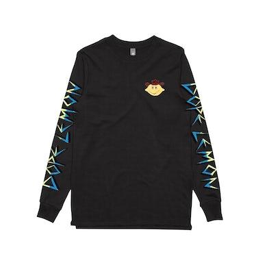 Dope Lemon Cowboy Lemonhead / Black Longsleeve T-shirt