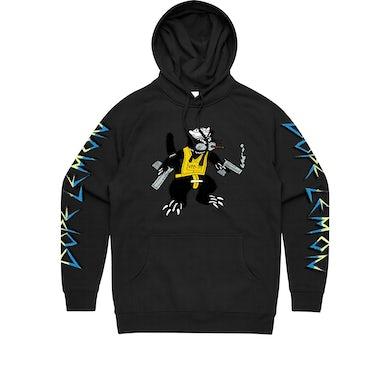 Dope Lemon Gun Cat / Black Hood