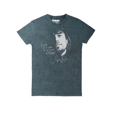 Xavier Rudd Freedom / Grey Acid Wash T-shirt