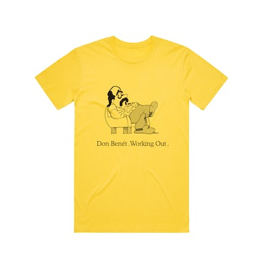 Donny Benet Working Out / Yellow T-shirt