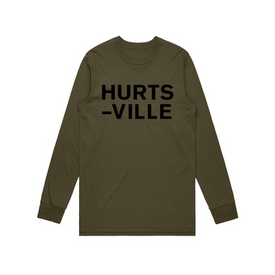 Jack Ladder Hurts-Ville / Longsleeve t-shirt Army
