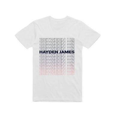 Between Us / White t-shirt