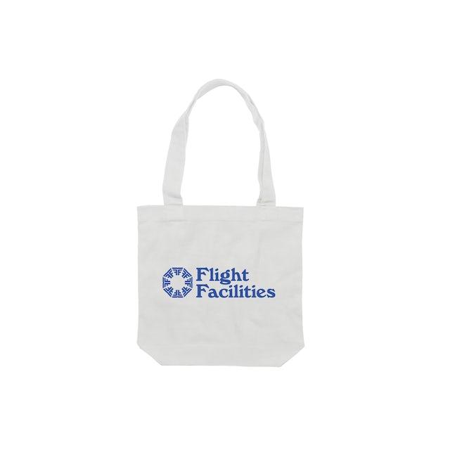 Flight Facilities 30,000 feet / White Tote Bag