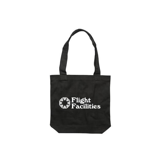 Flight Facilities 30,000 feet / Black Tote Bag