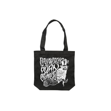 Psychedelic Porn Crumpets Owl / Tote Bag