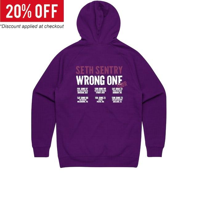 Seth Sentry Wrong One Tour / Purple Hood