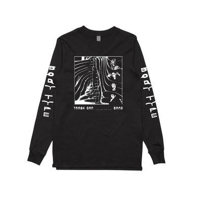 Body Type Trash Can / Black Longsleeve