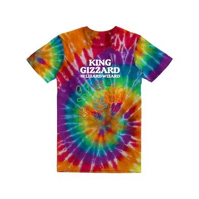 King Gizzard & The Lizard Wizard Happy Fish / Tie-Dye T-shirt