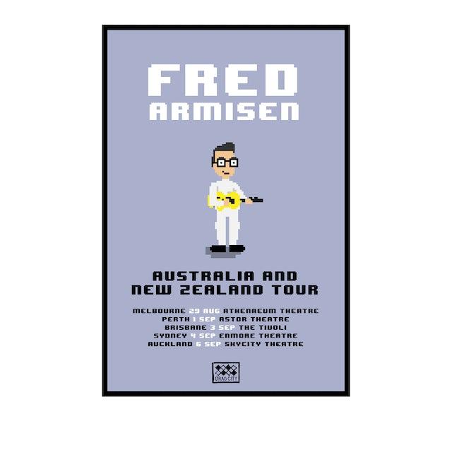 Fred Armisen AUS & NZ 2019 Tour / A2 Poster