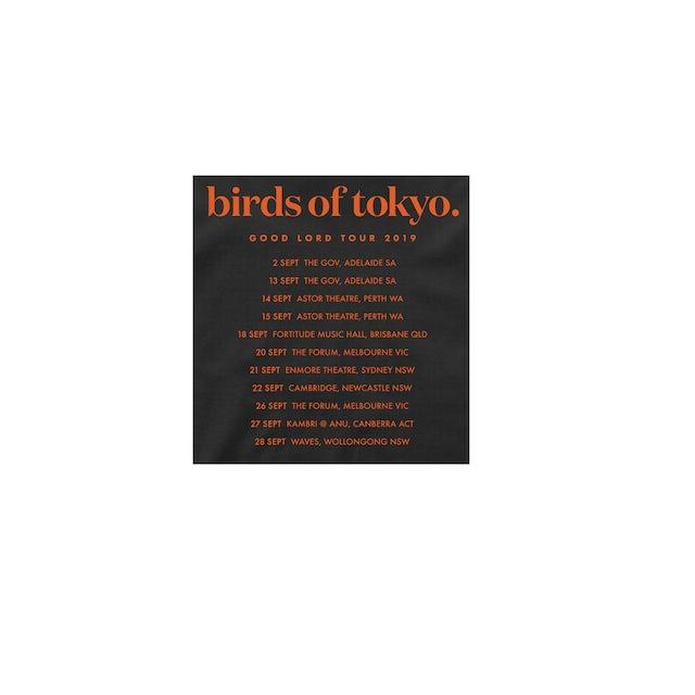 Birds Of Tokyo Good Lord Heart / Tour T-Shirt