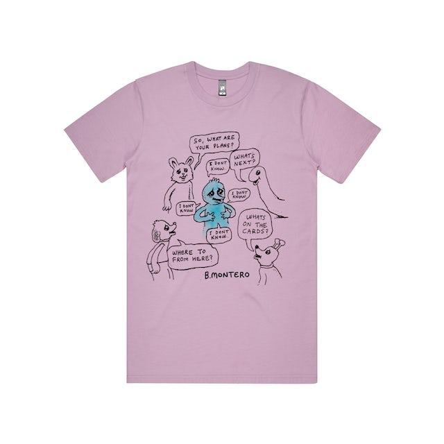 Bjenny Montero I Don't Know / Lavender T-shirt