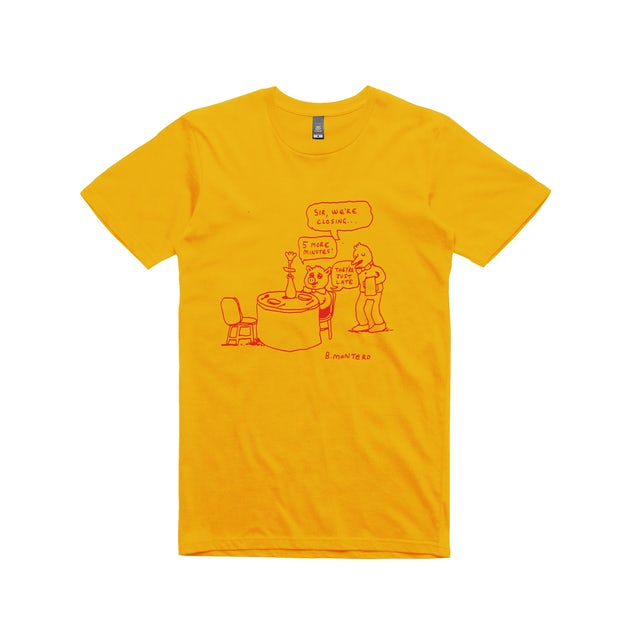Bjenny Montero 5 More Minutes / Gold T-shirt
