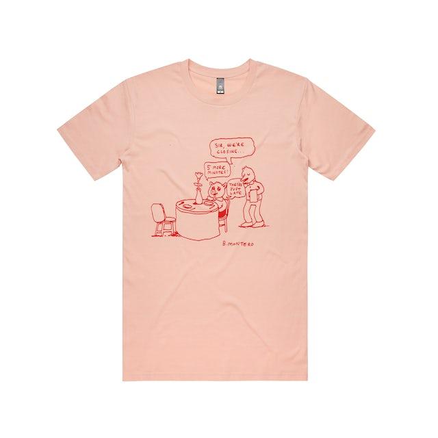 Bjenny Montero 5 More Minutes / Pale Pink T-shirt