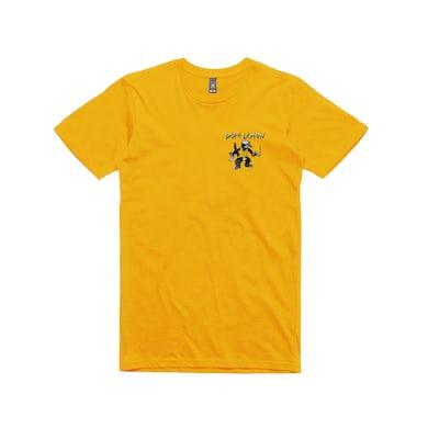 Dope Lemon Gun Cat / Gold T-shirt