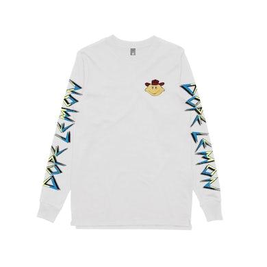 Dope Lemon Cowboy Lemonhead / White Longsleeve T-shirt