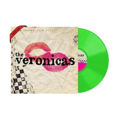 "The Veronicas The Secret Life Of / Fluro Green Signed 12"" vinyl"