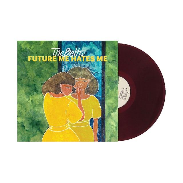 "Carpark Records The Beths / Future Me Hates Me 12"" Magenta Vinyl"