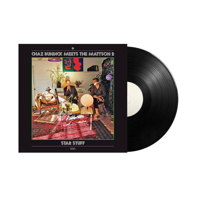 "Carpark Records Chaz Bundick Meets The Mattson 2 / Star Stuff 12"" Vinyl"