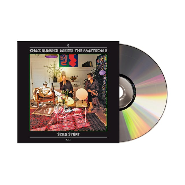 Carpark Records Chaz Bundick Meets The Mattson 2 / Star Stuff CD