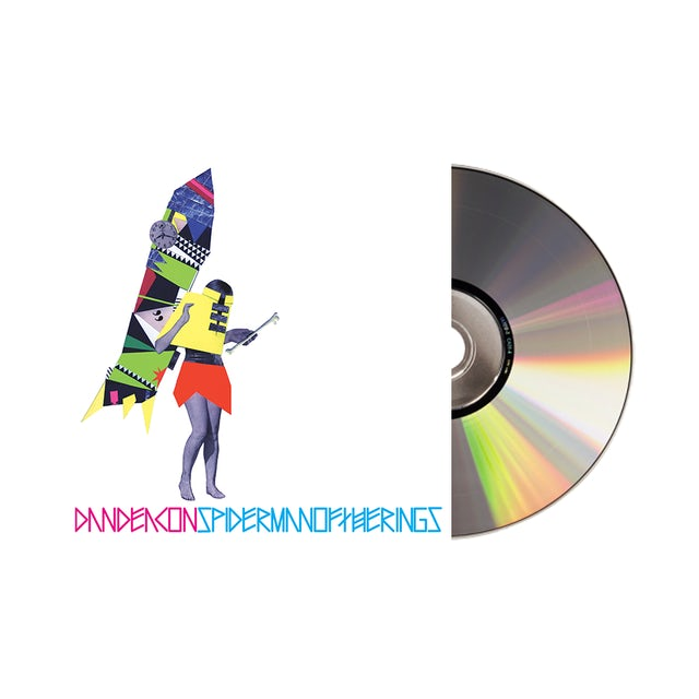 Carpark Records Dan Deacon / Spiderman of the Rings CD