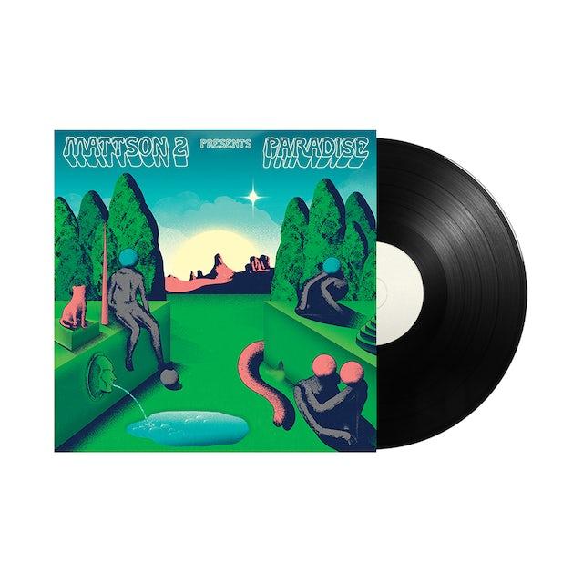 "Carpark Records The Mattson 2 / Paradise 12"" Starburst and Black Vinyl"