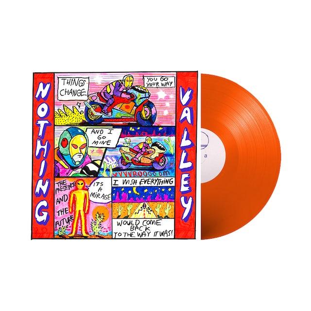 "Carpark Records Melkbelly / Nothing Valley 12"" Orange Vinyl"