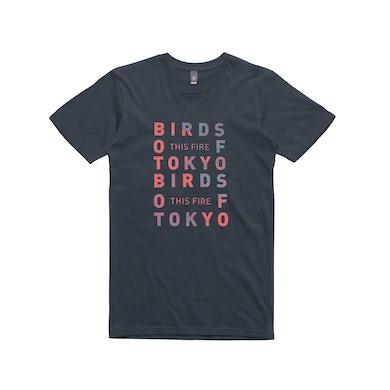 Birds Of Tokyo This Fire / Navy T-shirt