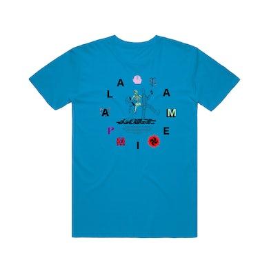 Tame Impala Clockwork / Blue T-shirt