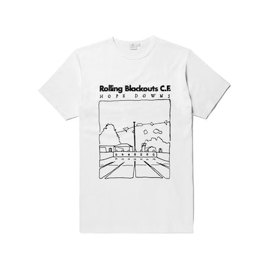 Rolling Blackouts Coastal Fever Hope Downs / White T-shirt