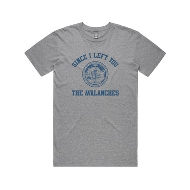 The Avalanches Since I Left You / Grey Marl  T-shirt