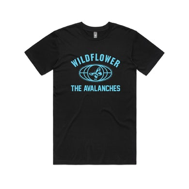 The Avalanches Wildflower / Black T-shirt