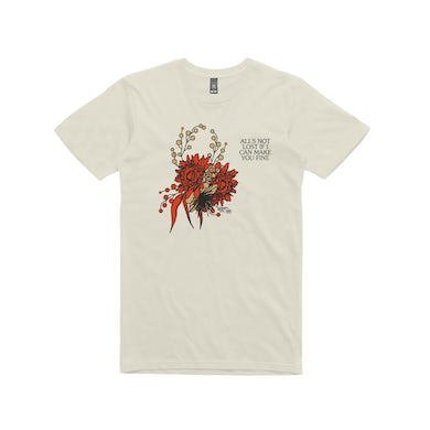 Gretta Ray Heal You In Time / Cream  T-shirt