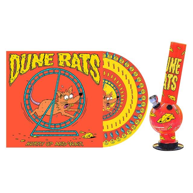 Dune Rats 'Hurry Up And Wait' / Bong and Vinyl Bundle