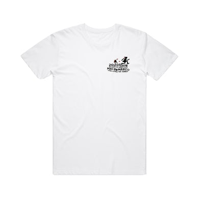 Mac Demarco 2020 Tour / White T-shirt