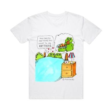Bjenny Montero Pizza / White T-shirt